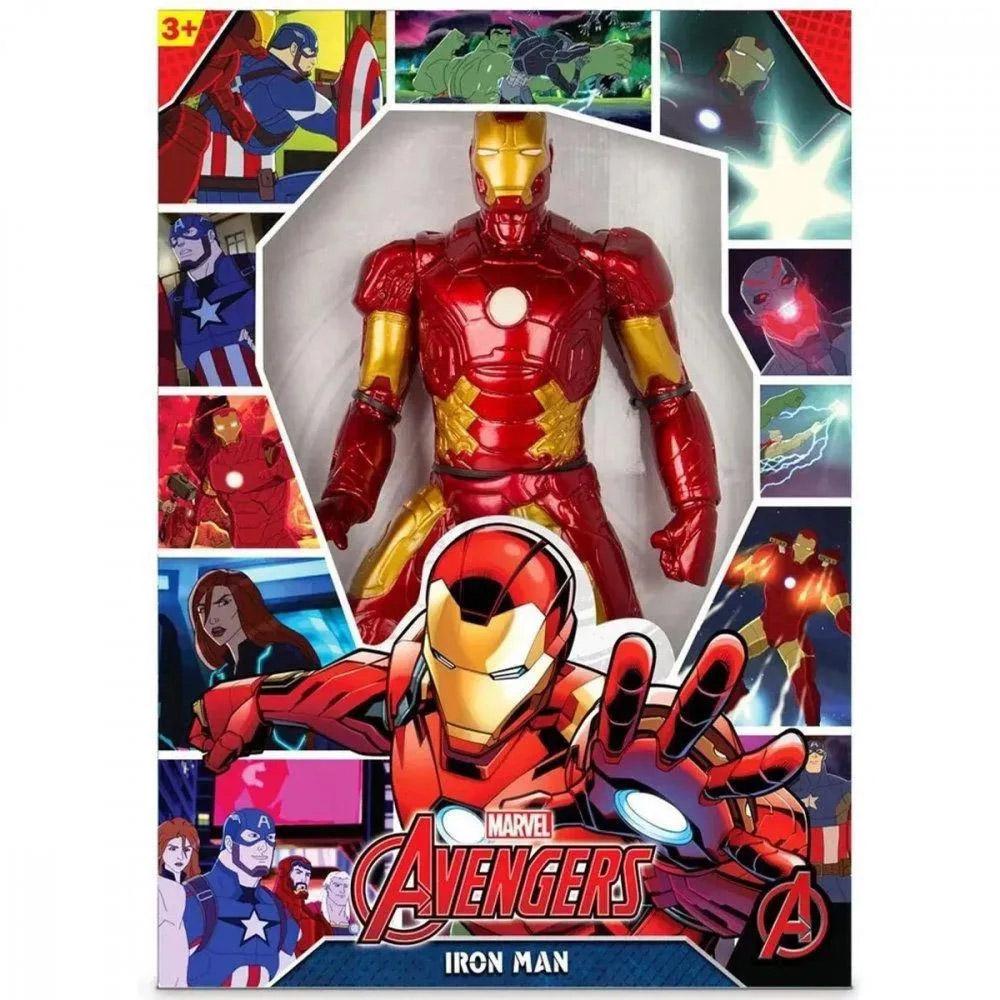 Boneco Homem de Ferro (Iron Man) 45cm  0515 MIMO TOYS
