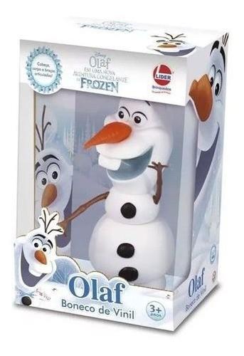 Boneco Vinil Olaf Frozen 2598 LIDER