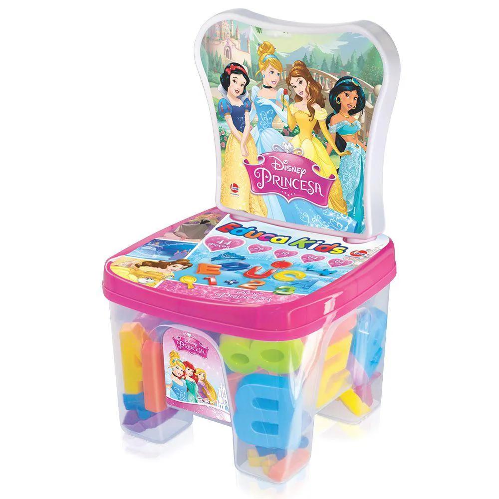 Cadeira Educakids Princesas 2377 LIDER