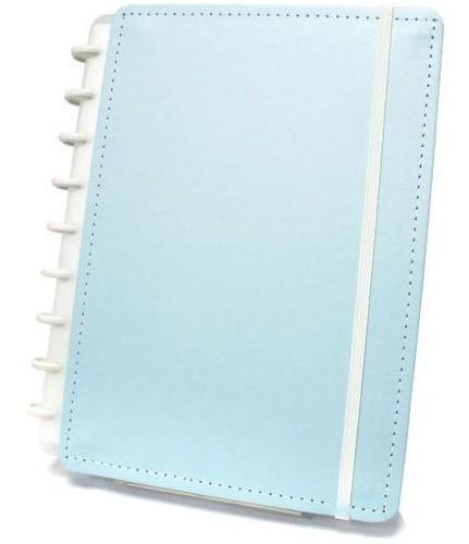 Caderneta Inteligente Azul Pastel 50 folhas CIIN1035
