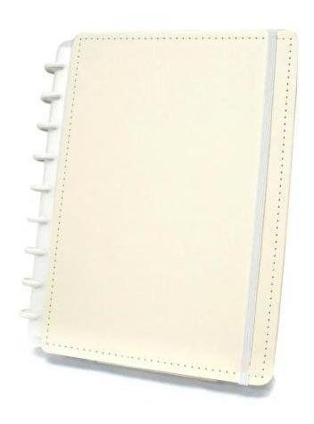Caderno Inteligente Amarelo Pastel Tamanho Médio 80 folhas CIMD3034