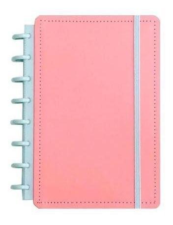 Caderno Inteligente Rosa Pastel Tamanho G  80F CIGD4037