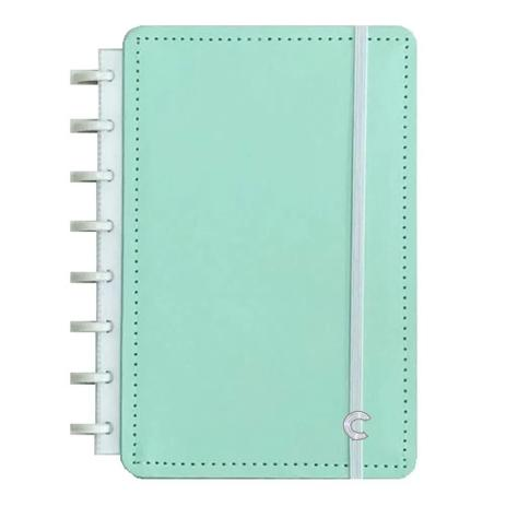Caderno Inteligente Verde Pastel Tamanho A5 80 Folhas