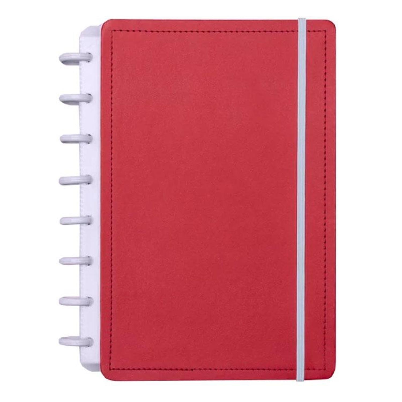 Caderno Inteligente Vermelho Cereja Tamanho A5 80 Folhas CIA52049