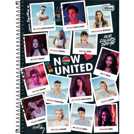 Caderno Now United 160F 10 Matérias 318213 TILIBRA