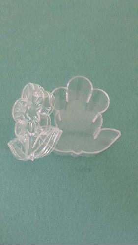 Caixinha Formato Flor Cristal C/12 CP-0130 ART LILLE