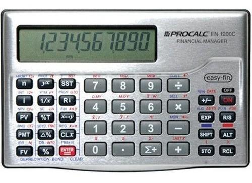 Calculadora Financeira RPN/ALG FN1200C  PROCALC