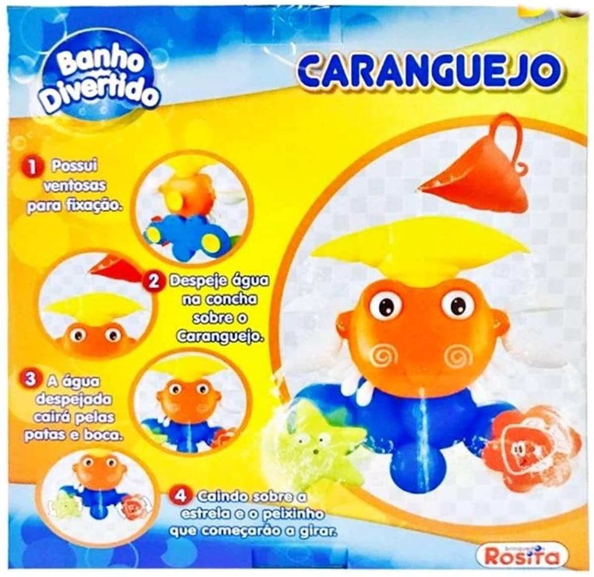 Carangueijo Banho Divertido 9851 ROSITA