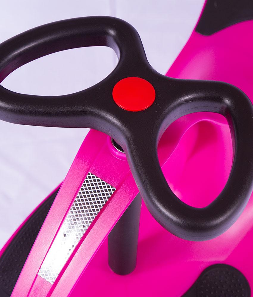 Carrinho Gira Gira Car Rosa GX-T405 FENIX