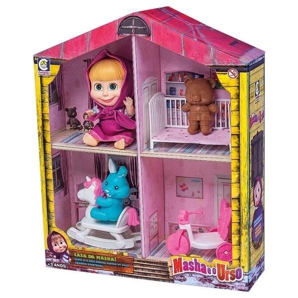 Casa Masha e o Urso com Acessórios 2402 COTIPLAS