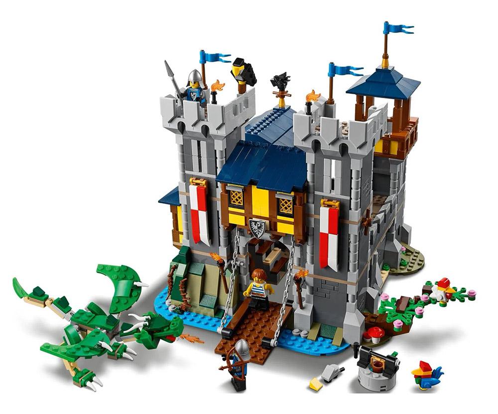 Castelo Medieval 1426pcs 31120 Creator LEGO