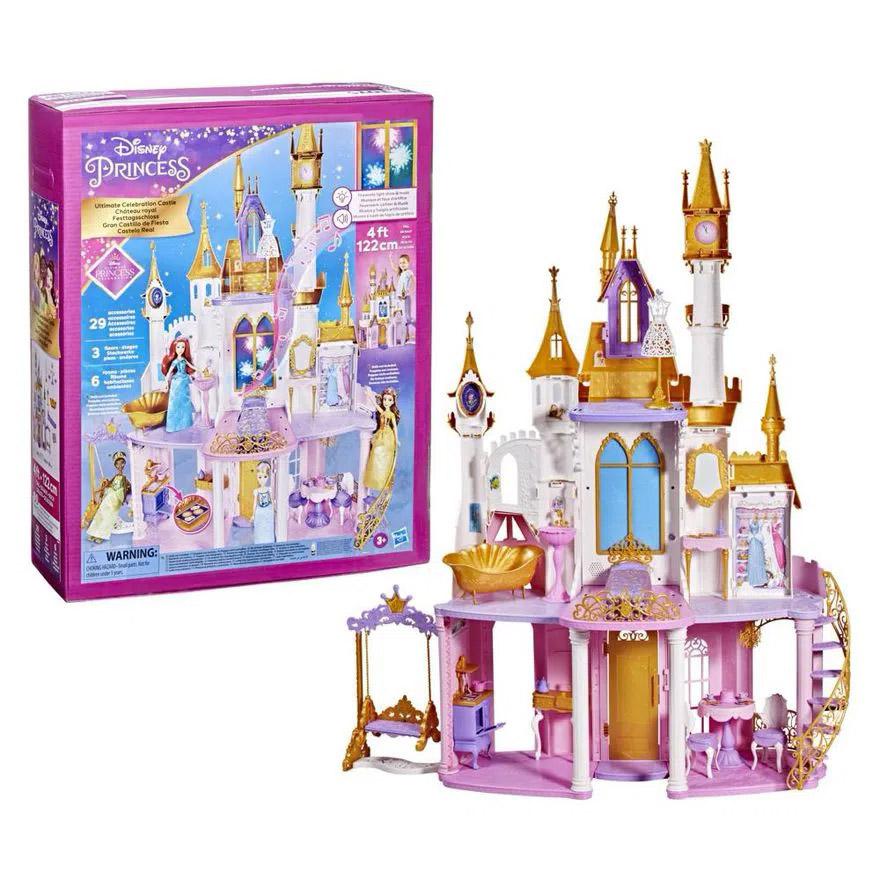 Castelo Real Princess Deluxe Barbie F1059 HASBRO