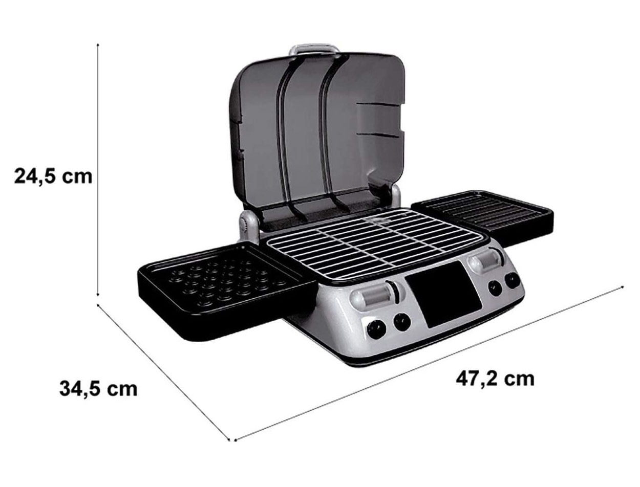 Churrasqueira Mini Chef 1150.9 XALINGO