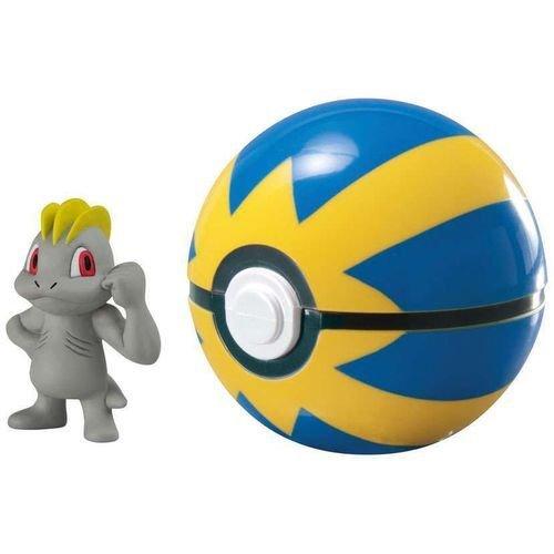 Clip & Carry Pokebola Machop 1971 Pokemon SUNNY / TOMY