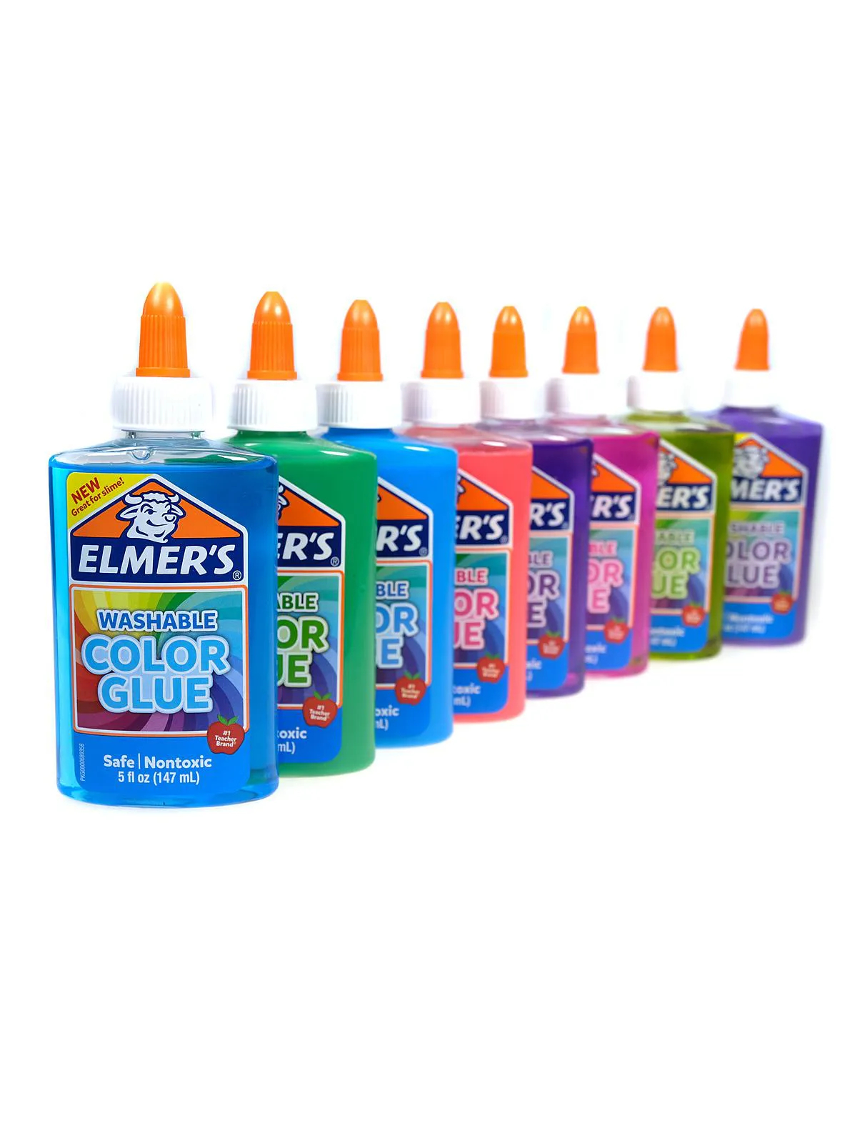 Cola Colorida 147ml Elmers Diversos Toyng