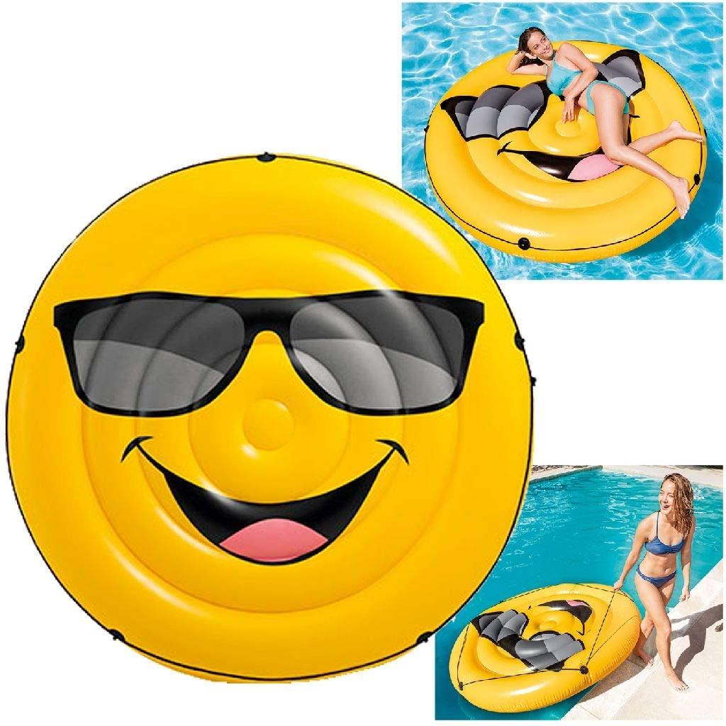 Colchão Inflável Emoji 57254 INTEX
