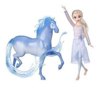 Conjunto de Bonecos Elsa e Nokk Frozen 2  E5516 HASBRO