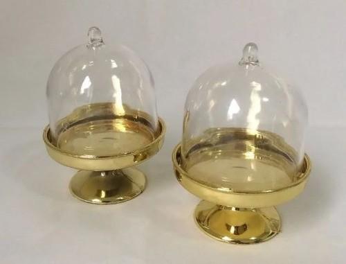 Cúpula Mini Metalizada Diversos C/12 CP-0085M ART LILLE