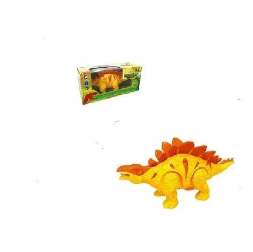 Dinossauro Estegossauro com Som e Luz ART BRINK