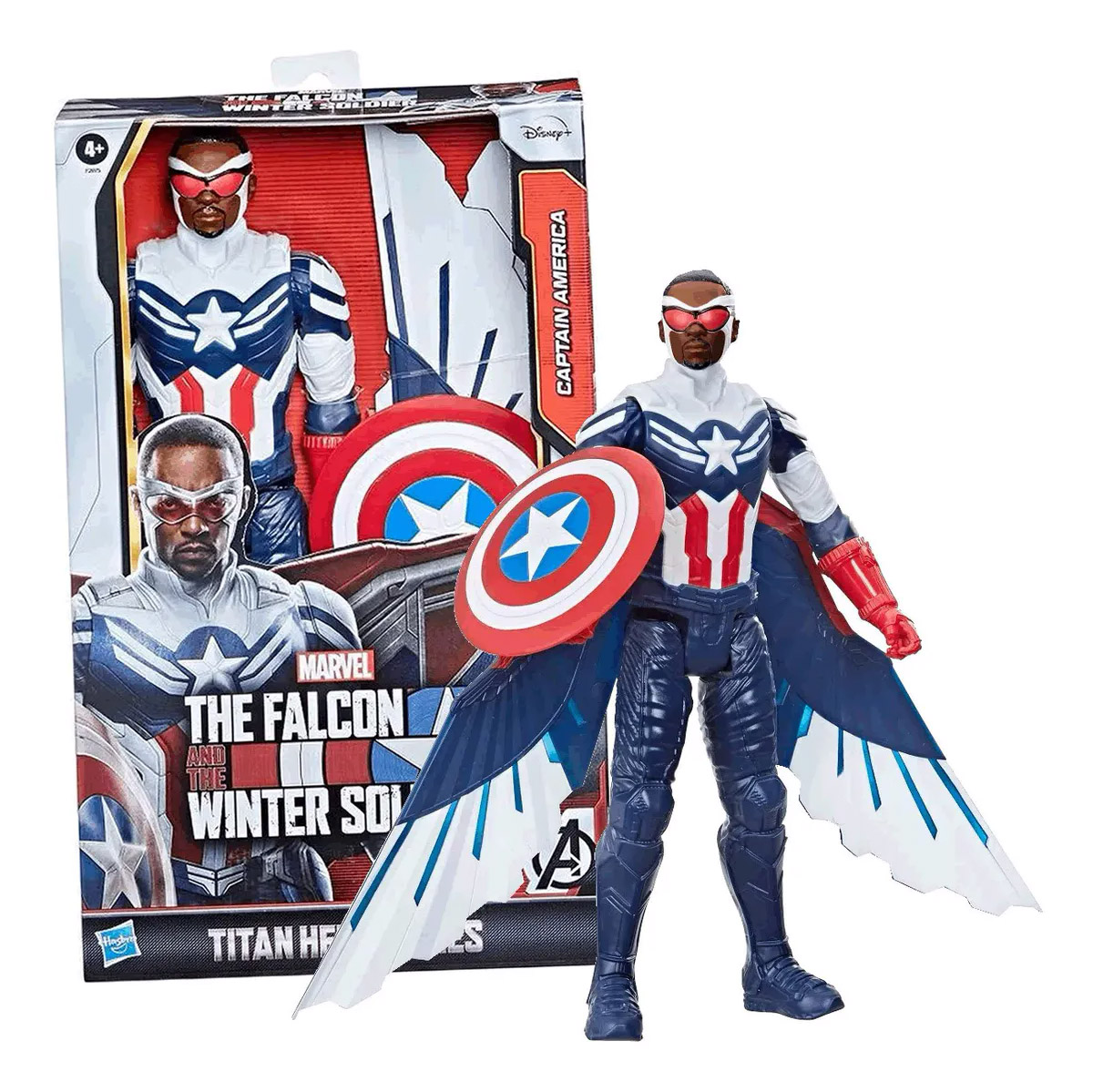 Falcão Capitão América Titan Hero F2075 HASBRO