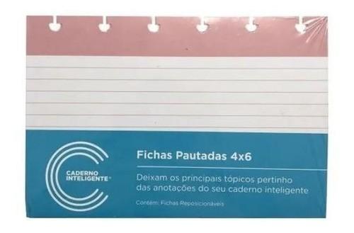 Ficha Pautada 4x6 CIFI1001 Caderno Inteligente