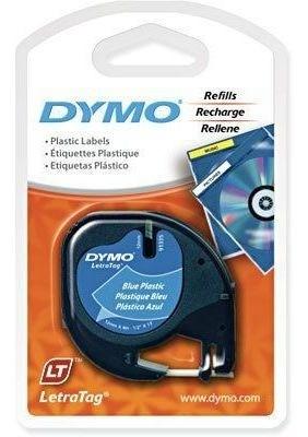 Fita Para Rotuladora Elétrica Plástica  PT/AZ 91335 12MMX4M DYMO