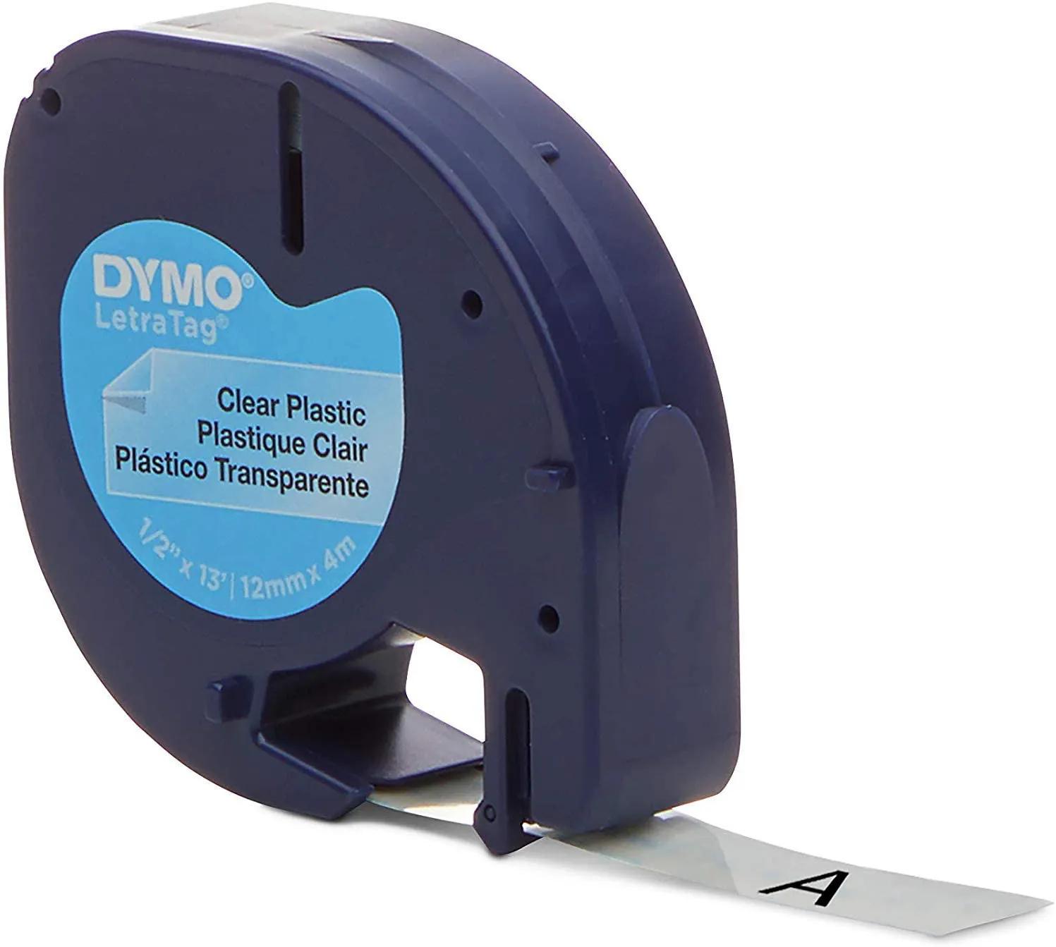 Fita Poliéster para Rotulador Eletrônico Plástico Transparente 12MMX4M 16952 DYMO