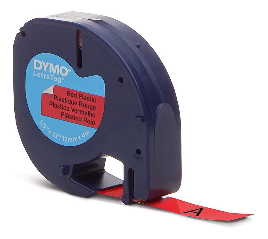 Fita Rotuladora Elétrica Plástica PT/VM 12MMX4M 91333 DYMO