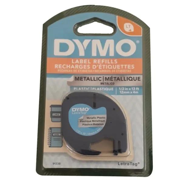 Fita Rotuladora Eletrônica Plástica PT/PR 12MMX4M 91338 DYMO