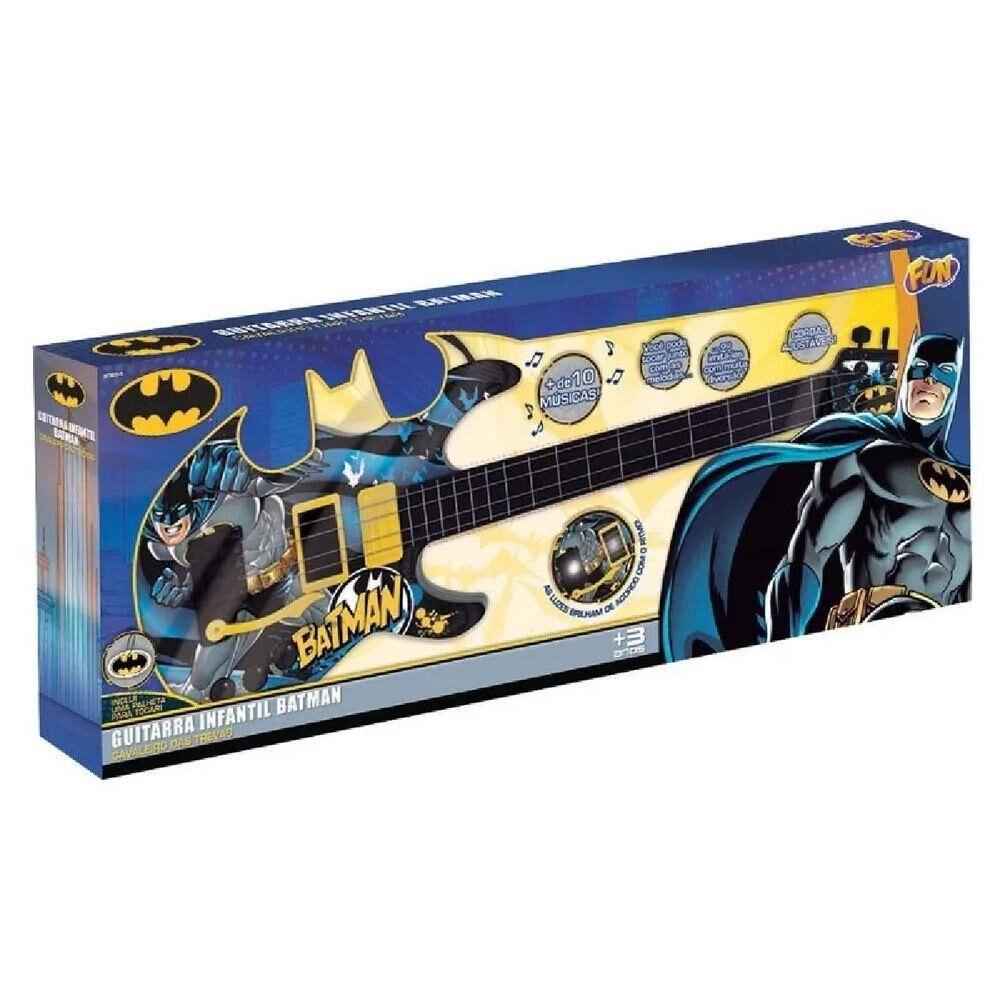Guitarra Infantil Batman Cavaleiro das Trevas FUN