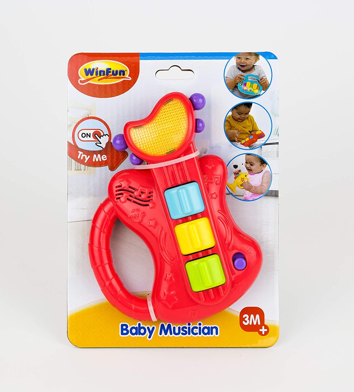 Guitarra Musical do Bebê 641 WINFUN
