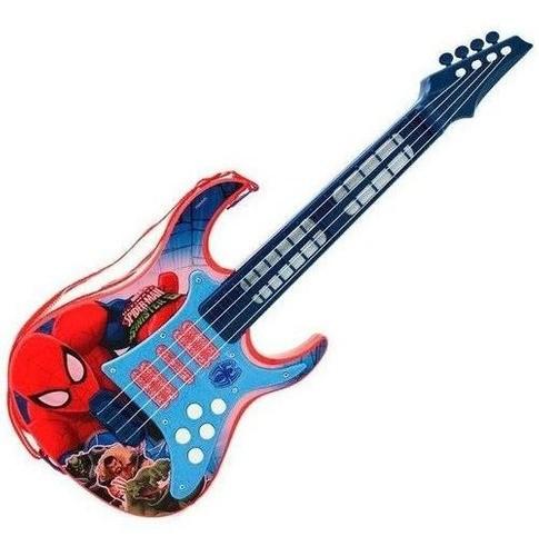 Guitarra Musical Homem Aranha Toyng