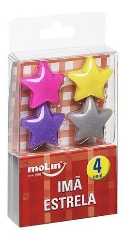 Imã Estrela com 4 unidades 23166 MOLIN