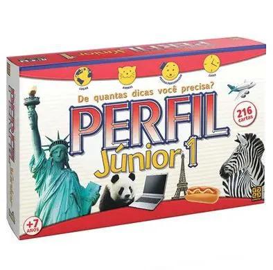 Jogo Perfil Junior 1 C/216 Cartas 01131 GROW