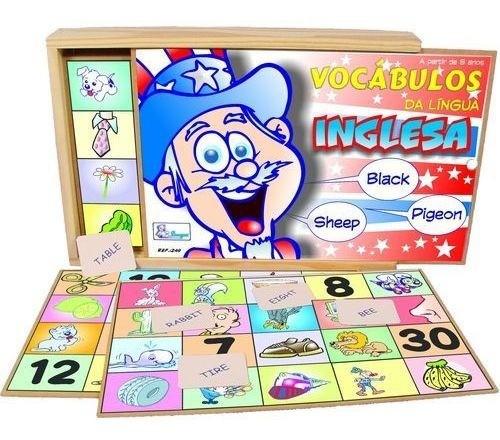 Jogo Vocabulários da Língua Inglesa - Sinque