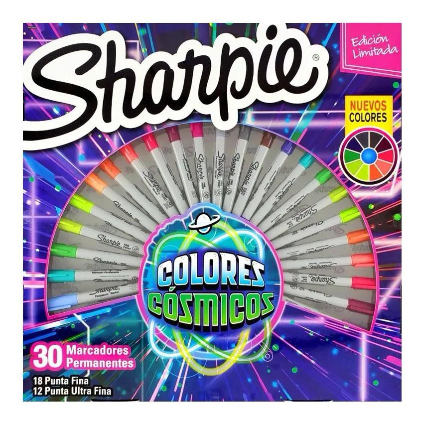 Kit c/ 30 Marcadores Cosmic Colors SHARPIE