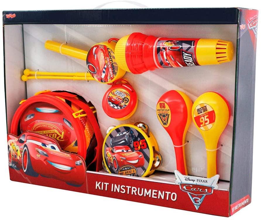 Kit Instrumentos Musicais Carros 2 29732 TOYNG