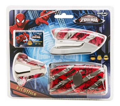 Kit Office Spider Man REF18481 MOLIN