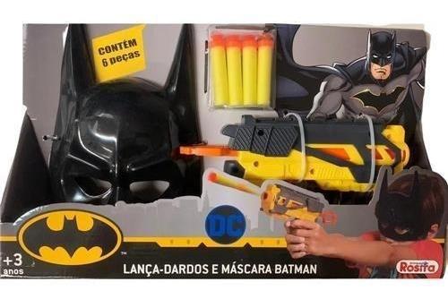 Lança Dardos e Máscara BATMAN 9515 - Rosita