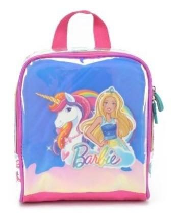 Lancheira Barbie Nacarado LA34444BB LUXCEL