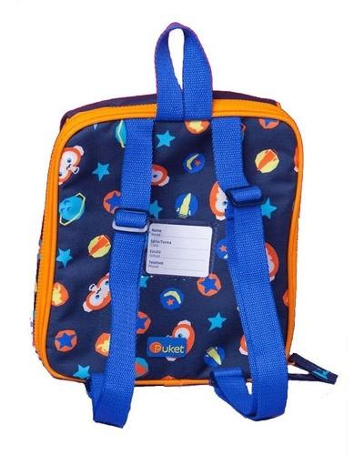Lancheira Macaco Space Azul Marinho PUKET