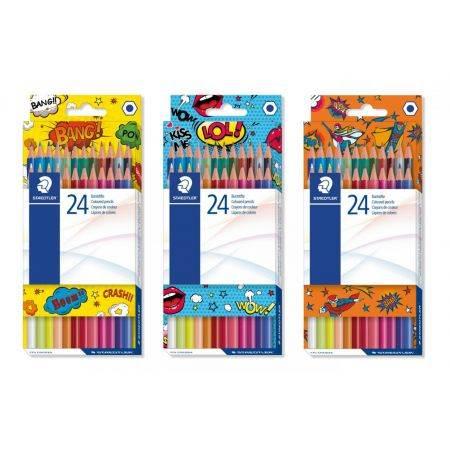 Lápis de Cor 24 Cores Comic STAEDLER
