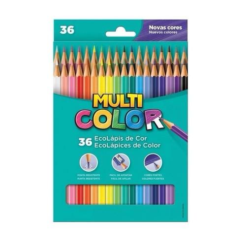 Lápis de Cor 36 Cores Multi Color