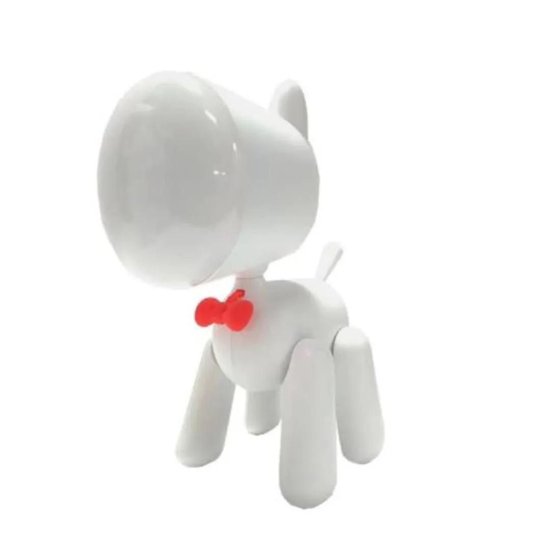 Luminaria Cachorro Branca - UP4YOU