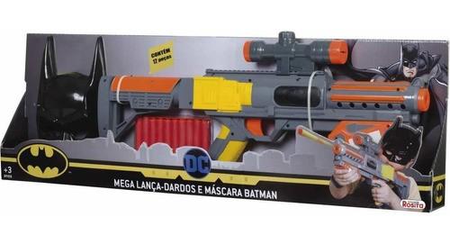 Mega Lança Dardos e Máscara BATMAN 9517 - Rosita