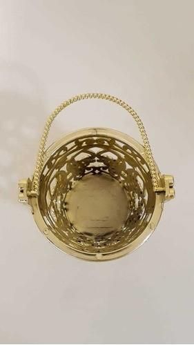 Mini Balde Arabesco C/12 Ouro CP-0156 ART LILLE