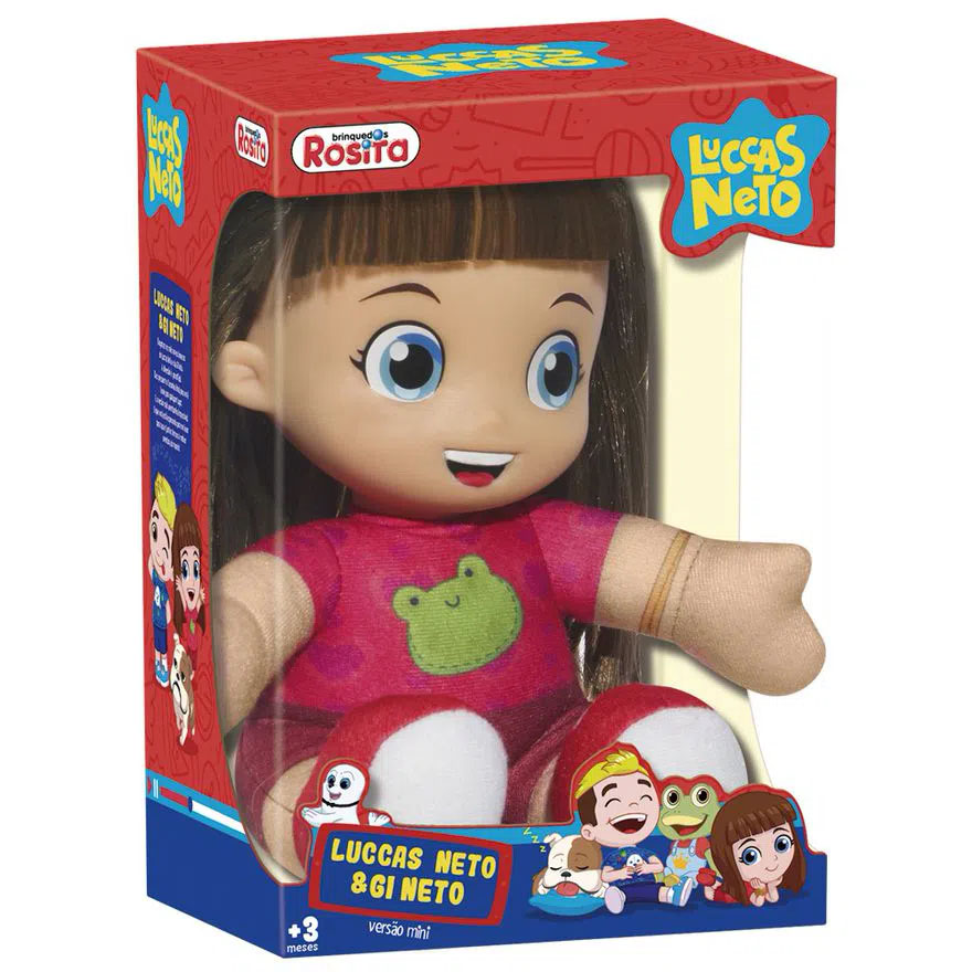 Mini Boneca Gi Neto 1076 ROSITA