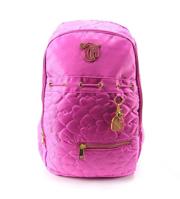Mochila Capricho Coração Pink 48902 DERMIWIL