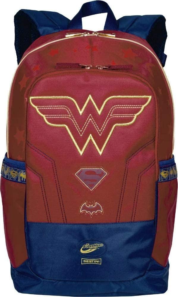 Mochila Mulher Maravilha Super Heroes 075703-32 SESTINI