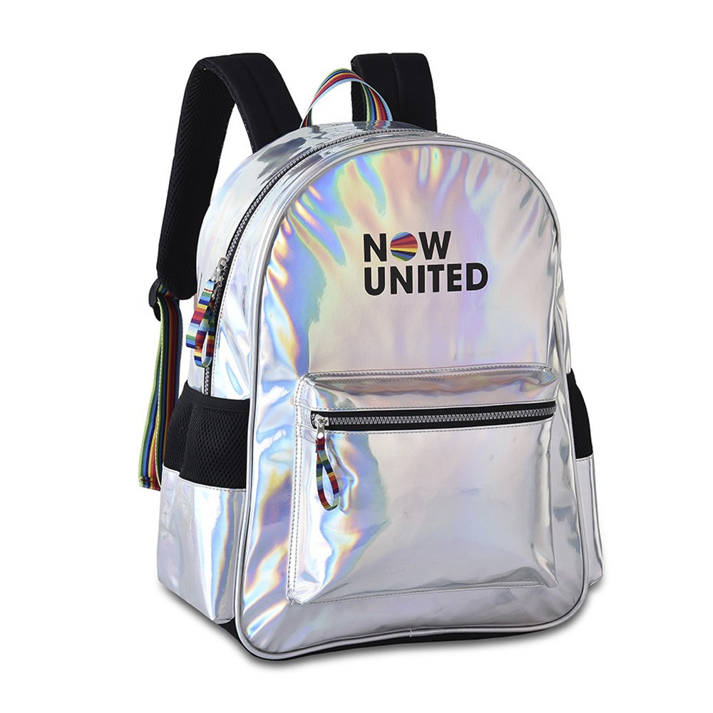 Mochila Now United Metalizada NU3252 CLIO